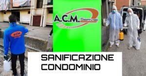 Sanificazione condominio zona Torretta